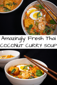 Pinterest Button for Coconut Thai Curry Soup