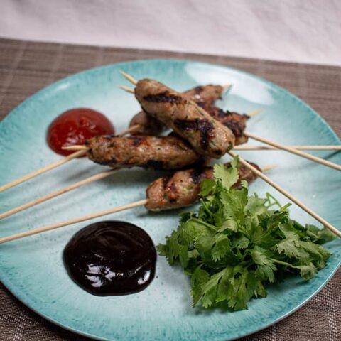 Grilled Vietnamese Pork Skewers