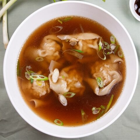 The Perfect Wonton Soup